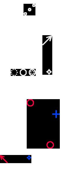 Left Parallax Background Element